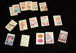 Crackerjack Joke Book Pages Lot Vintage Candy Premium - $16.99