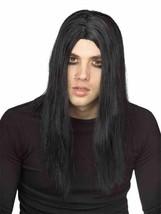 Rubies Evildoer Grunge Gótico Negro Peluca Halloween Adulto Accesorio Di... - £10.55 GBP