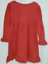 Blanks Boutique Long Sleeved Color Red Ruffle Dress Size 3T image 2