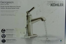 Kohler Georgeson 1-Handle Bathroom Faucet - Brushed Nickel New! - $69.99
