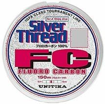 *Unitika UNITIKA line silver thread FC 150m 16LB - $37.76