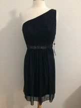 Adrianna Papel 997 Women Plus Size 16W Dress Navy One Sholder NWT$159 - $9.69