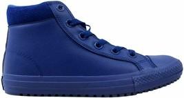 Converse Chuck Taylor All Star Boot Hi Roadtrip Blue/Obsidian 654311C GS... - $22.32