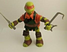 """Teenage Mutant Ninja Turtles TMNT Red Raphael Playmates 5.5"""" 2014 Viacom... - $5.28"""