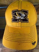 Mizzou TIGERS University Columbia Missouri Fitted Size S/M Adult Cap Hat - $13.85