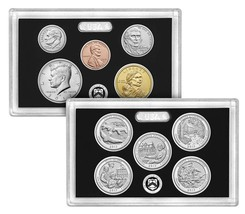 Lot of 4 2017 US Mint 225th Anniversary Enhanced Uncirculated Coin Sets Box/COA image 2