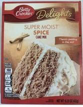 Betty Crocker Super Moist Spice Cake Mix 15.25 Oz. - $5.49