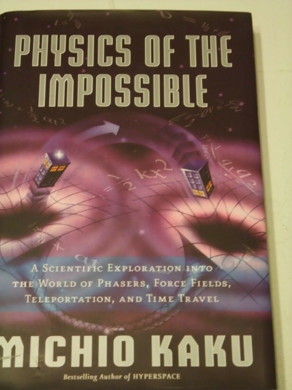 Primary image for Physics of the Impossible: A Scientific Exploration Into the World of Phasers &