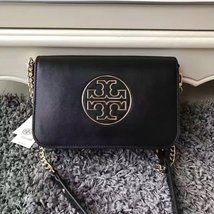 Tory Burch Isabella Leather Clutch - $302.75 CAD