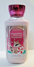 Bath & Body Works TWISTED PEPPERMINT Body Lotion 8 fl oz NOS Invigorating - $9.00