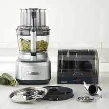 QUISINART Elemental POWEFUL 13 Cup Food Processor SPIRALIZER SILVER BPA ... - $349.90