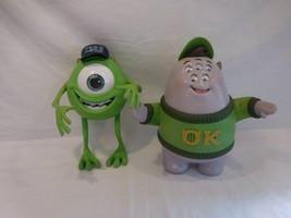Disney Pixar talking Scott squishy squibbles Monster University + Talkin... - $33.02