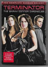 Terminator Sara Connor Chronicles Complete Second Season 2 | 6-DVD Set |... - $21.50