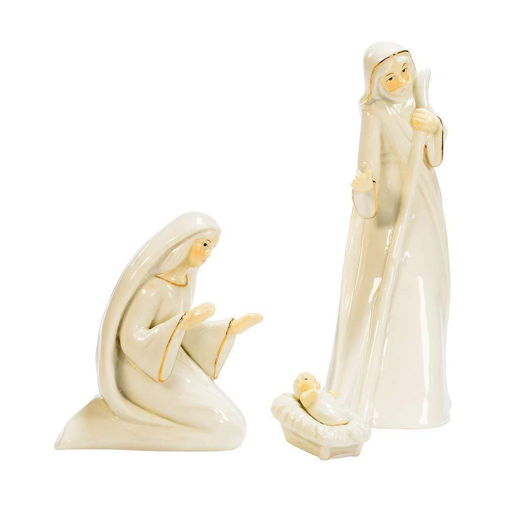 Kurt Adler 3-Piece Porcelain Holy Family Set Holiday Figurine - $19.80
