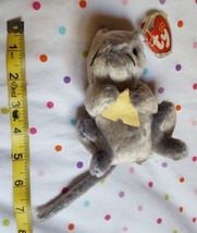 """Ty Cheddar Plush Mouse doll,  """"Cheese"""" from 2002 • pre-owned in nice condition  - $13.98"""