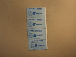 USPS Scott 2282a 1987-88 E Series 4 Books OF 20 80 Stamps 8 Panes - $59.79