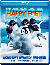 Happy Feet (Blu-Ray/DVD/Ws-2.40/Eng/Fr/Lt-Sp/Sub)