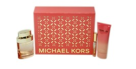 MICHAEL KORS WONDERLUST 3 PIECE GIFT SET EAU DE PARFUM SPRAY 100ML NIB - $98.51
