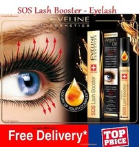 NEW EVELINE LASH SOS BOOSTER CONDITIONER EYELASHES GROWTH ARGAN OIL SERU... - $12.32