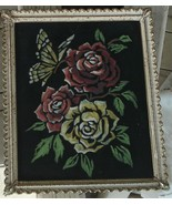 Beautifully Framed Personalized Colored Graphite Drawing on Black, Dated... - $9.89