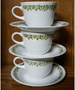 Corelle Livingware by Corning ~ Spring Blossom ~ Set of Three-3 Cups & S... - $27.72
