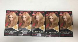 5 Revlon Colorsilk Buttercream 90/81N Light Natural Blonde Hair Dye Color - $55.99