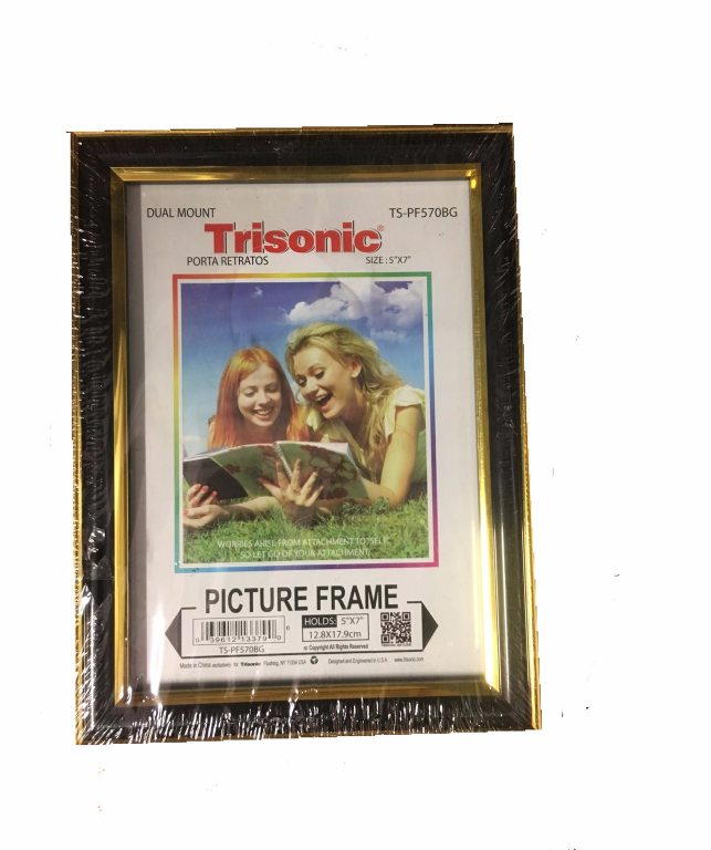 "Primary image for TRISONIC PICTURE FRAMES - 5"" X 7"" MULTIPLE DESIGNS AND COLORS TO CHOSE FROM"