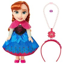 * NEW * Disney Frozen 13 Inch Anna Doll And Accessory Set (Kayleigh & Co.) - $36.99