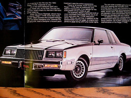 1983 Buick T-Type Brochure Regal Riviera Century - $17.13