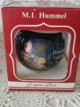 M.I. Hummel Heavenly Lullaby Glass Ornament 1988 - $9.69