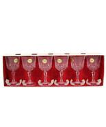 J G. Durand Set of 6 Cristal d' Arques St Germain n4 Crystal Wine Glasse... - $47.51