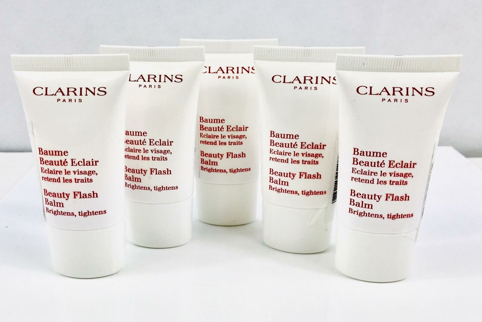 Primary image for Clarins Beauty Flash Balm Brightens , Tightens 2.5 oz (5x0.5 oz ) Sealed
