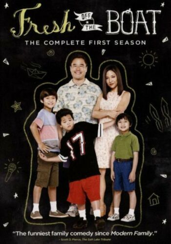 Fresh Off the Boat: The Complete Series Seasons 1 2 3 & 4 [DVD Sets New]