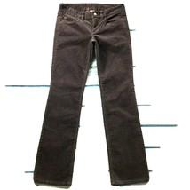 "J Crew Womens Pants size 2P 2 Petite Gray Straight Leg x 31"" insm Cotton... - $19.31"