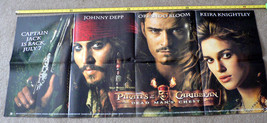 "PIRATES OF THE CARIBBEAN:DEAD MAN'S CHEST 2006 (26"" X 50"")POSTER (side 1... - $29.99"
