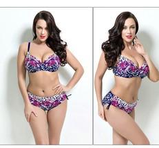 PLUS SIZE BIKINI 2pc Bathing suit women Swimming suits sexy swimwear XL 2X navy - $39.99