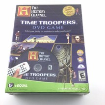 History Channel Time Troopers DVD Game 1-4 Players Family Game Night New... - $24.74