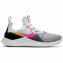 Women's Nike Free TR 8 Training Shoes Black/Laser Fuchsia 942888 008 - $90.20