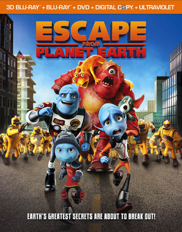 Escape From Planet Earth (Blu-Ray/DVD Combo/3-D/Uv/Dc/Ws/2013/4 Disc) (3-D)
