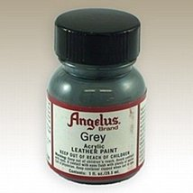 Angelus Acrylic Paints 1oz Color Grey - $6.93