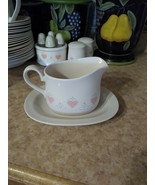 Corelle Forever Yours Gravy Boat and Underplate Excellent Condition - $58.99