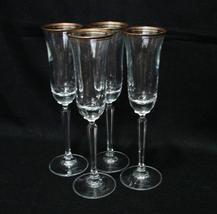 "Mikasa Full Lead Crystal Wheaton Wine Glasses 4 pc 9""  - $1,499.00"