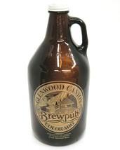 Glenwood Canyon Brewpub Craft Brewed Beer Brown Bottle 64 oz Pale Ale Empty - $18.80