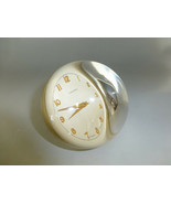 "Rare Vintage Swiss ""Concord"" Lucite Crystal Ball Clock 15 Jewel Wind up ... - $886.05"