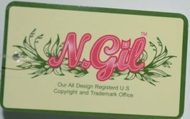 NGIL THQ423NAVY Sailor Print Canvas Duffle Bag Colors Navy Green and White image 5