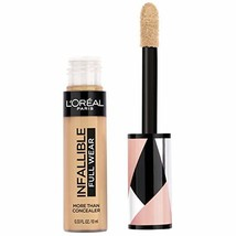 L'Oreal Paris Cosmetics Infallible Full Wear Concealer, Latte, 0.33 Flui... - $12.84