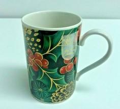 "Dunoon Fine White Stoneware Scotland ""Mistletoe Mug"" - $9.49"
