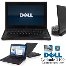 Dell Latitude 2100 Good Cheap Netbook 1.6Ghz 2GB 80GB Win7 Office COMPLE... - $75.00