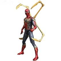 Movie Avengers Infinity War Iron Spider Man Cartoon Toy Action Figure Model Doll - $32.23