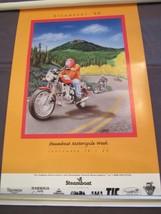 Steamboat Motorcycle Week Poster 1998 Colorado - $78.30